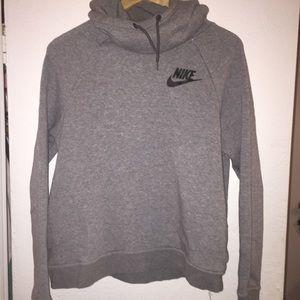 Nike sweatshirt gray and black